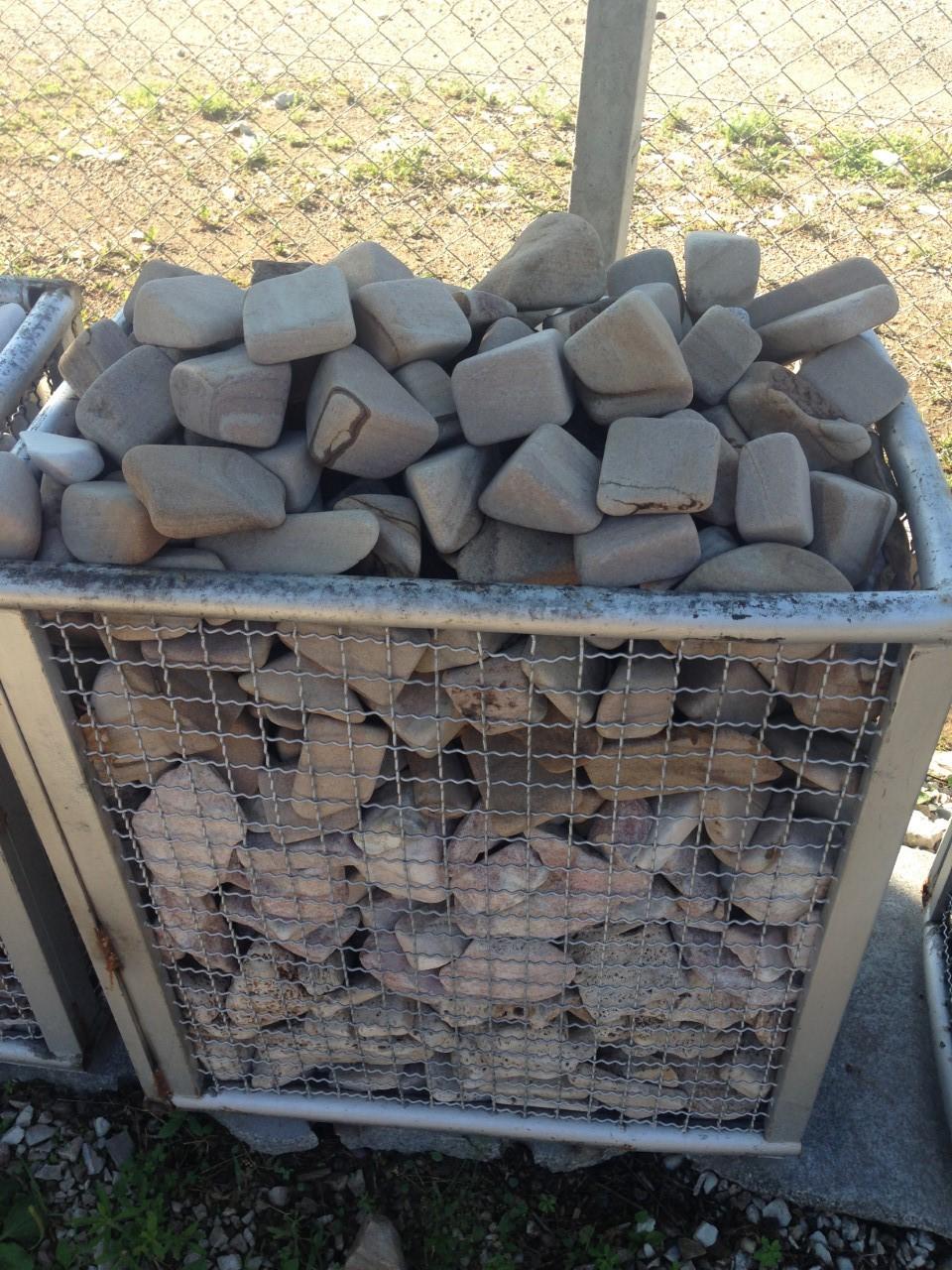 Tamboreado para jardin piedras col n srl venta de for Piedras jardin baratas